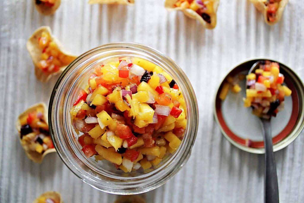 111315 mango salsa gluten free vegan