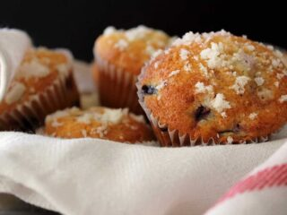 Award Winning Blueberry Muffins. Bake some of these up for your family and friends, and blow them away! | cravethegood.com