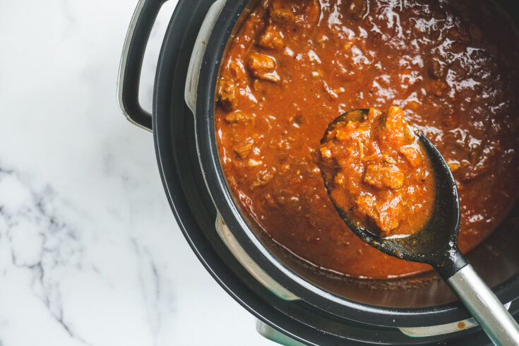 Keto Instant Pot Chili