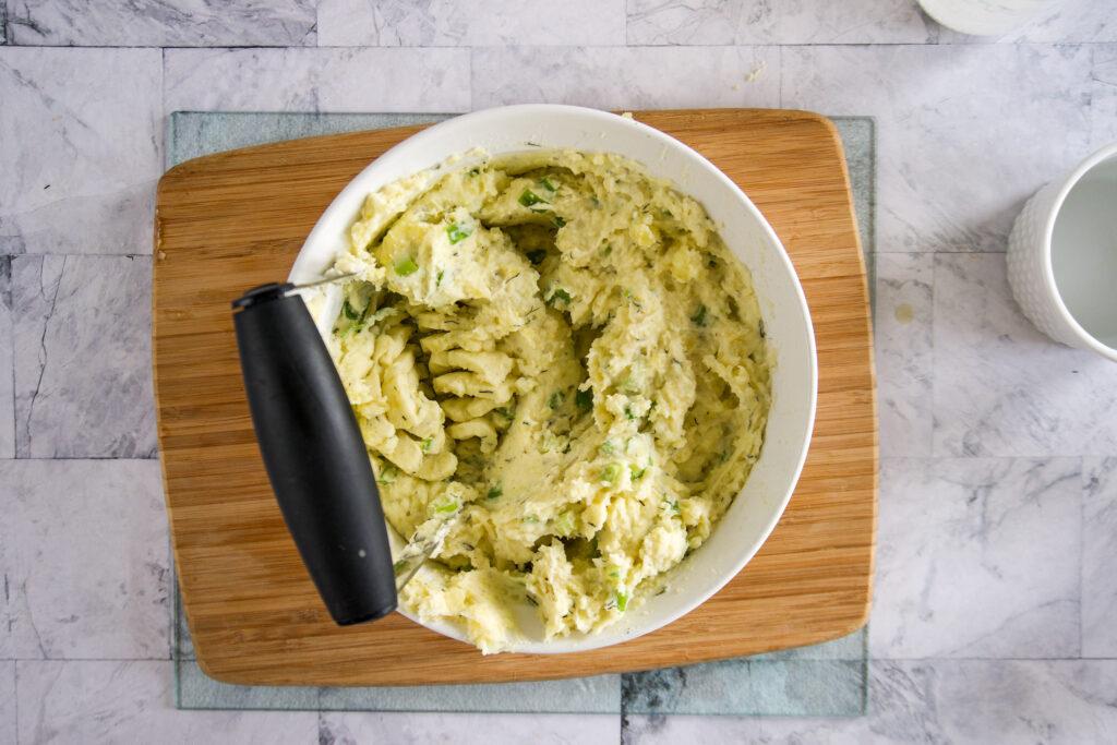 Fully mashed potatoes!