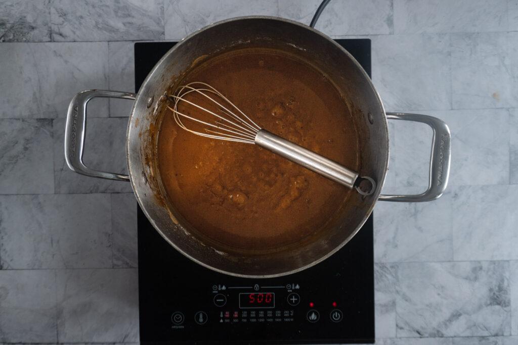 finished gravy.