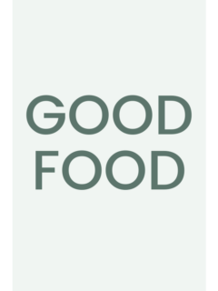 Good food page holder image.