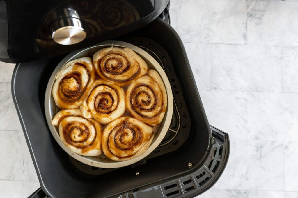 Glazed rolls.