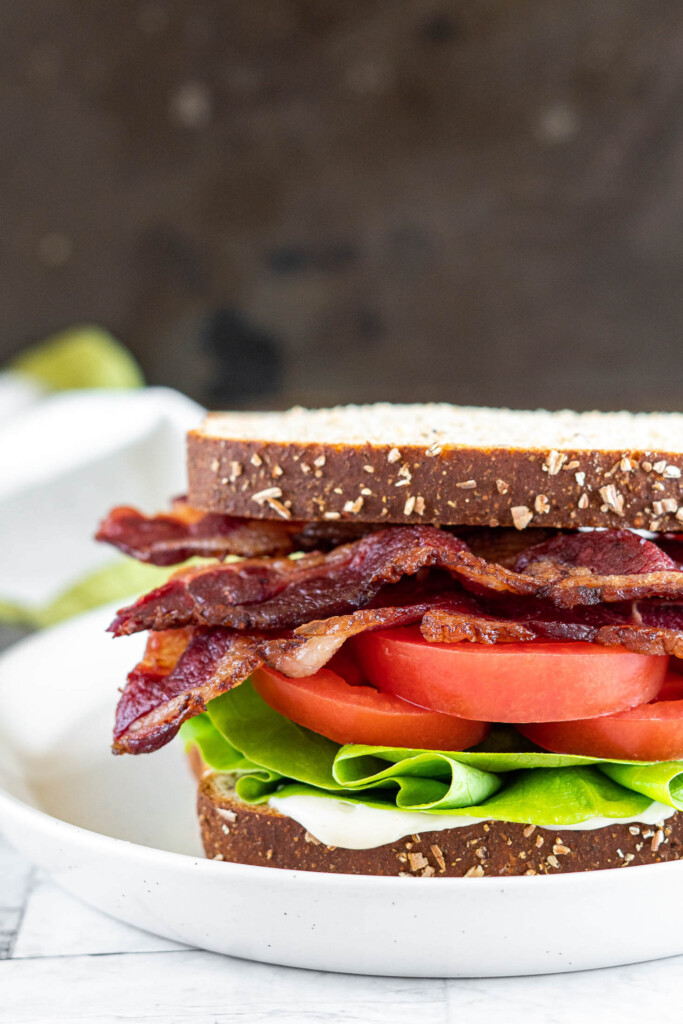 Beef bacon BLT.