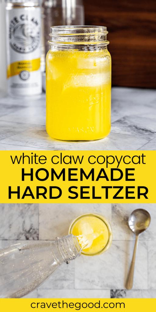 White claw copycat pinterest graphic.